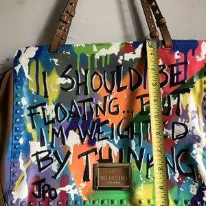 Valentino Bags - VALENTINO Rockstud Trapeze Customized W/ JPO Graff